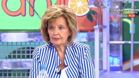 María Teresa Campos de vuelta al trono de la televisión para poner de vuelta y media a Juan Carlos I