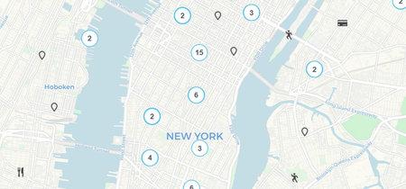 Este mapa te muestra comercios físicos y cajeros donde puedes utilizar Bitcoin