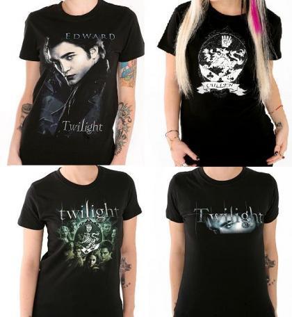Camisetas de Twilight, Crepúsculo