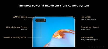 Huawei P40 Series Camaras Frontales
