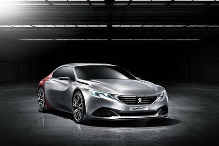 Concept Peugeot Exalt - el coupe cuatro puertas que siempre será un concepto