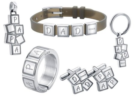 Regalos para el Día del Padre: joyas Tous para papá