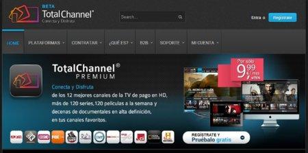 Total Channel, la nueva apuesta para televisión desde Internet