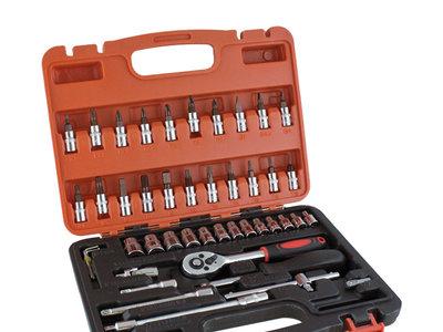 Maletín de herramientas con 46 piezas rebajado un 56%, ahora puedes conseguirlo por sólo 12,95 euros y envío gratis