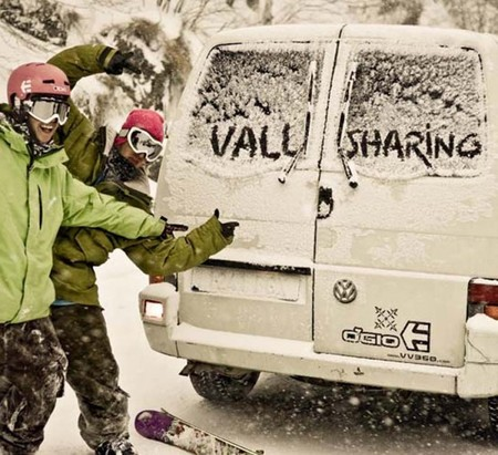 Vallsharing: coche compartido para esquiadores