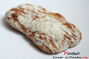 Pan de chapata de parmesano. Receta