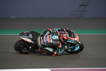 Fabio Quartararo Test Catar 2019