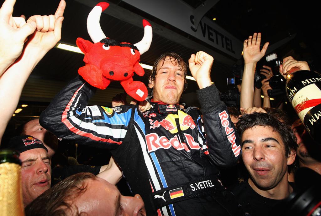 Vettel Victoria Red Bull