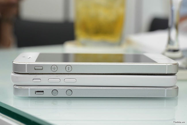 Comparación de tamaño entre iPhones