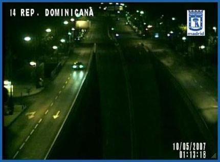 Madrid Traffic Webcams Widget, las cámaras de tráfico de Madrid en tu Dashboard