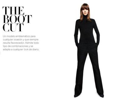 pantalon boot cut H&M