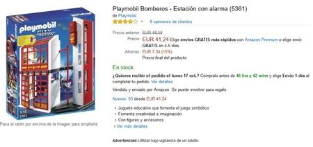 Estacion Bomberos Amazon