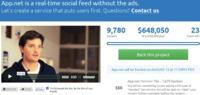 App.net, la red social tipo Twitter de pago, alcanza su objetivo de financiación colectiva