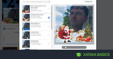 Cómo añadir un marco navideño a tu foto de perfil de Facebook