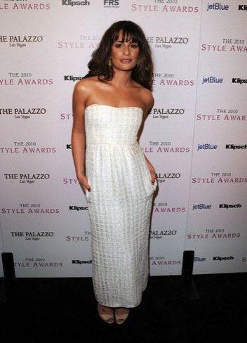 Lea Michele 2010 Style Awards