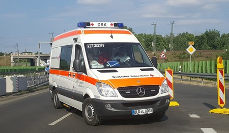 Ambulancia Luces Azules 30