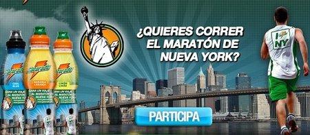 Gatorade nos ofrece la posibilidad de viajar gratis a Nueva York