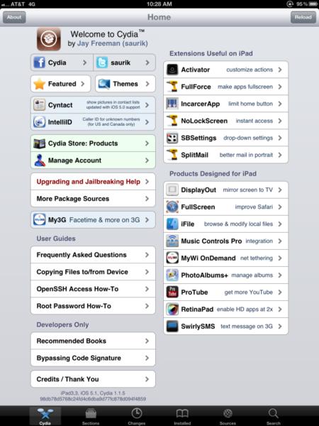 Jailbreak del iPad 3 con iOS 5.1