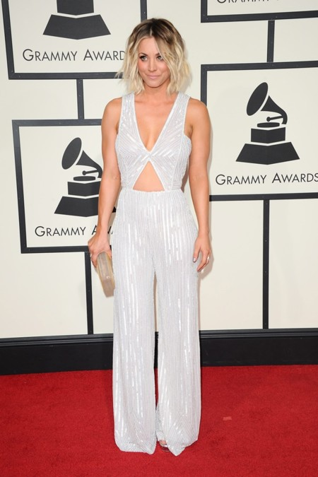 Kaley Cuoco Grammy 2016 2