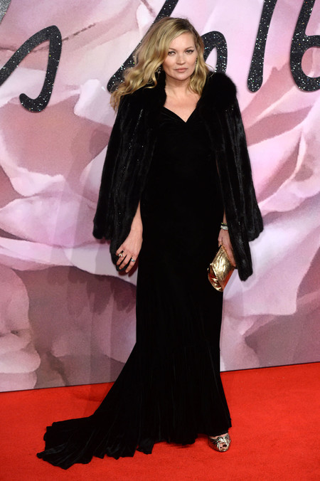 British Fashion Awards 2016 Kate Moss