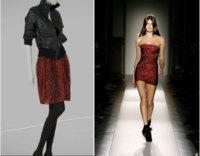 Zara copia el modelo de Balmain