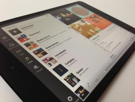 Análisis iPad mini spotify