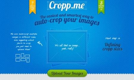 Cropp.me, recorta y redimensiona imágenes sin salir del navegador