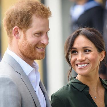 Meghan Markle luce un reloj idéntico al Cartier de Lady Di para su primer posado junto al príncipe Harry tras dejar la Familia Real