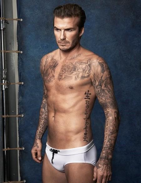 A nosotros nos encanta ver a David  Beckham en calzoncillos, a su madre... no tanto