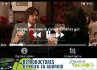 Reproductores de vídeo Android: VitalPlayer