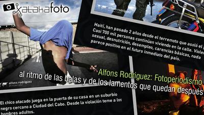 Alfons Rodriguez: Fotoperiodismo al ritmo de las balas y de los lamentos que quedan después
