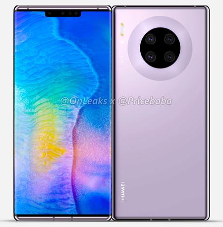 Huawei Mate 30 Pro Render Pricebaba