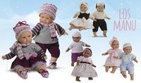 """""""Los Manu"""" de Paola Reina: muñecos para que niños y niñas jueguen a cuidarlos"""