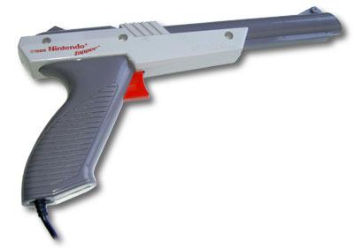 Especial controles de videojuegos: la pistola