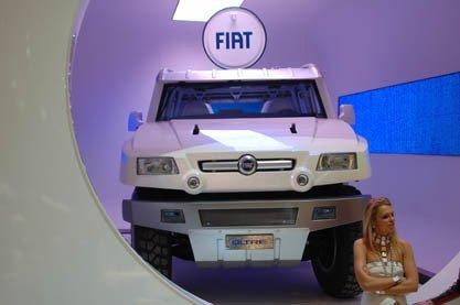 Fiat Oltre, enjaulado en Ginebra