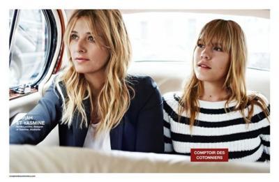 Comptoir des Cotonniers nos trae una nueva campaña de madre e hija para esta primavera 2015