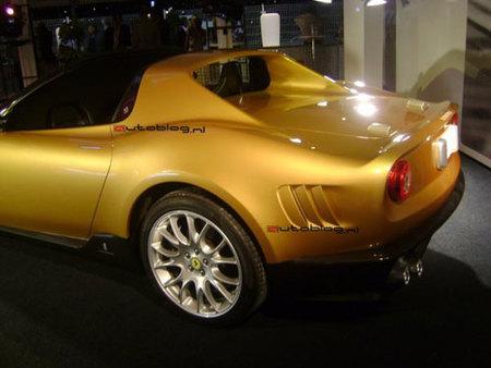The Golden Ferrari Pininfarina