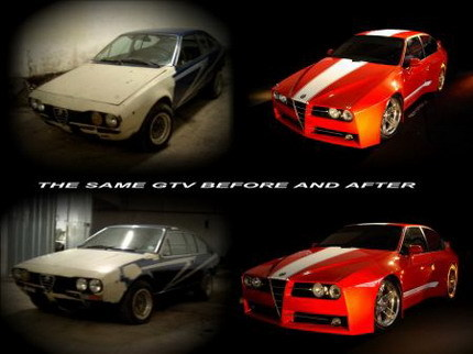Alfa Romeo GTV Evoluzione