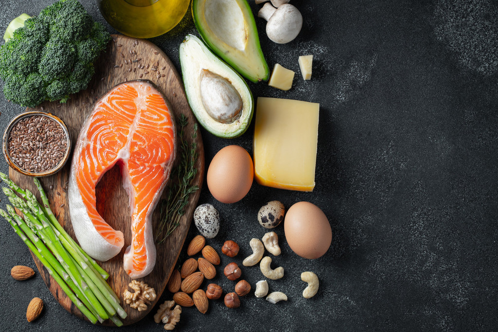 Alimentos permitidos y no permitidos en la dieta cetogénica para perder peso