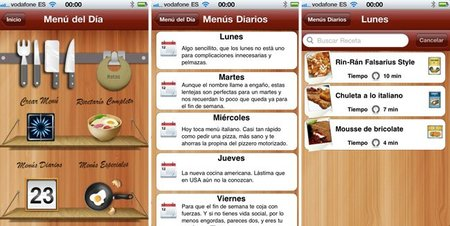 Aplicación para el iPhone de Falsarius Chef - 2