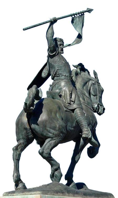 El Cid Estatua Parque De Balboa