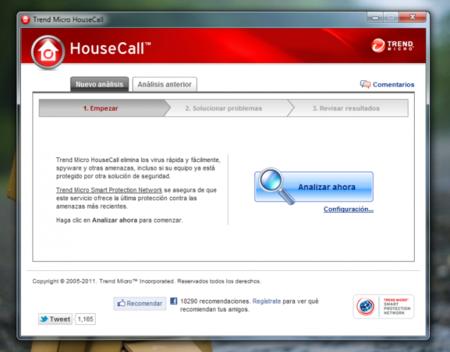 Housecall, una aplicación gratuita para detectar y limpiar amenazas de seguridad