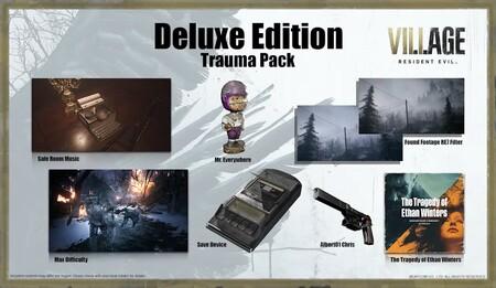 Contenido de la edición Deluxe de Resident Evil Village en México