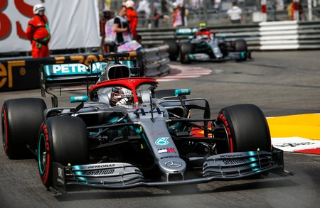 Hamilton Monaco Formula 1 2019