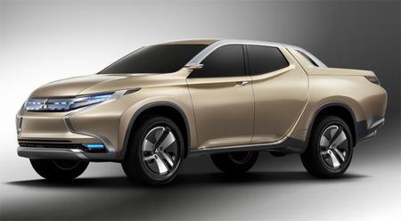 Mitsubishi presenta el pick-up híbrido diésel Concept GR-HEV