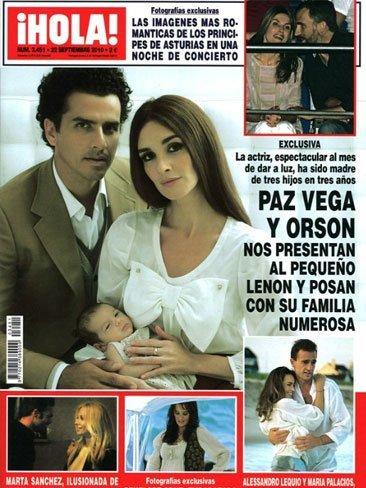 El hijo de Paz Vega vino con una exclusiva bajo el brazo, para no variar