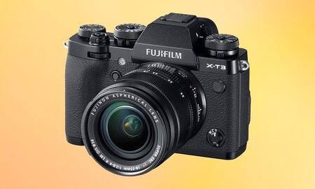 Amazon tiene más de 200 euros de rebaja para una interesante sin espejo como la Fujifilm XT-3 con objetivo 18-55mm