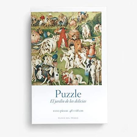 Puzzle 22triptico Del Jardin De Las Delicias 22 Del Bosco