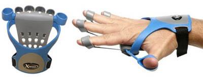 Xtensor, guante para ejercitar los músculos de la mano