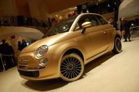 Fiat 500 Pepita: sí, ¡es de oro!